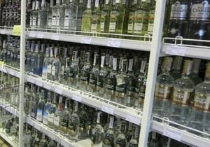 С 1 марта в Украине повышаются минимальные цены на водку