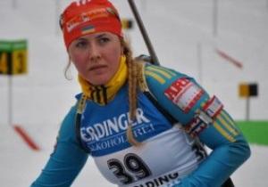 Украинка завоевала серебро чемпионата Европы по биатлону