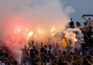 В Харькове подрались фанаты и стюарды