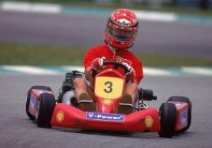 Шумахер променял Формулу-1 на картинг
