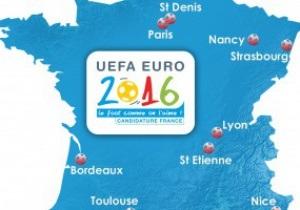 От Парижа до Марселя. UEFA утвердил 10 городов-хозяев Евро-2016