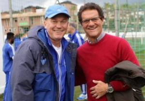 За тренировкой Динамо в Испании наблюдал Фабио Капелло