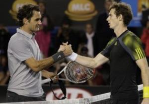 Драматичный бой. Энди Маррей выбил Федерера на пути в финал Australian Open