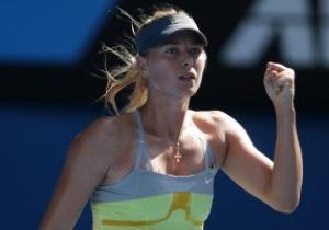 Шарапова установила новый рекорд на Australian Open