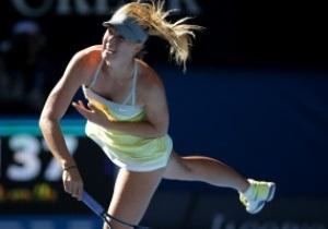 Шарапова легко пробилась в полуфинал Australian Open