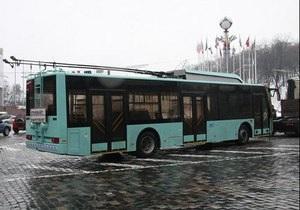 Белорусы обвинили украинский завод в краже троллейбуса