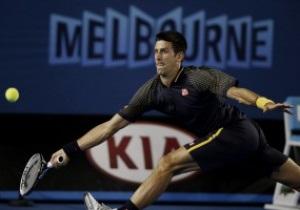 Australian Open. Джокович легко разобрался  с молодым американцем