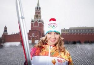 Представлен факел Олимпиады в Сочи-2014