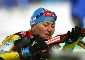 Биатлон. Украинки провалили эстафету этапа Кубка мира