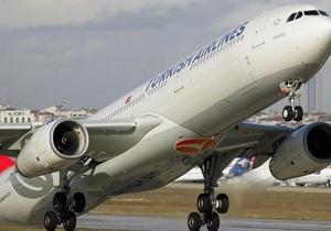Аэросвит: Turkish Airlines приостановила сотрудничество с проблемным перевозчиком