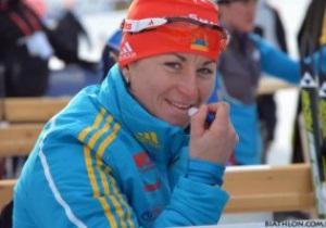 Биатлон. Украинка финишировала третьей на Кубке Мира