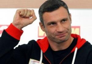 Виталий Кличко: Уходящий год был удачным для братьев Кличко