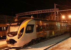 На семи из 16 поездов Hyundai, которые сегодня совершали рейс, был заменен подвижной состав