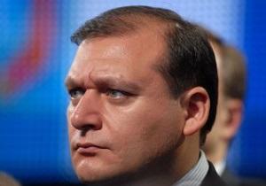 Добкин отрицает причастность Александра Януковича к Металлисту