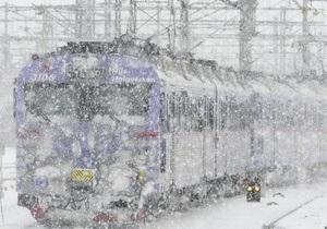 Фактам вопреки: Укрзалізниця заявляет, что из-за непогоды не был сорван ни один рейс