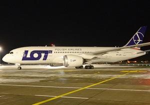 Украина одной из первых в Европе приняла новый флагманский самолет Boeing