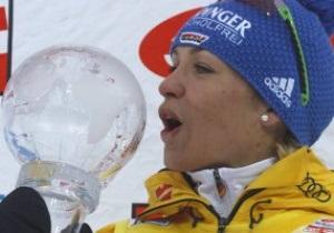 На пенсии. Магдалена Нойнер признана Лучшей спортсменкой Германии-2012