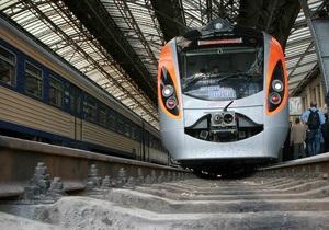 Скоростной Hyundai Днепропетровск-Киев застрял в поле