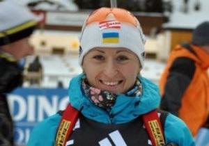 Биатлон. Вита Семеренко остановилась в шаге от подиума