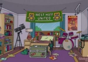 Вест Хэм стал первым футбольным клубом, упомянутым в The Simpsons