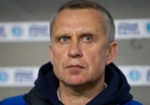 Киевский Арсенал остался без тренера - СМИ