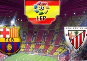 Барселона разбивает Атлетик, Месси все ближе к рекорду
