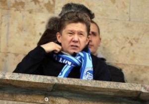 Глава Газпрома: Являюсь убежденным сторонников чемпионата СНГ по футболу
