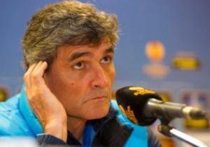 Журналисты поблагодарили тренера Днепра