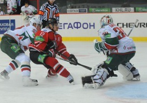 КХЛ: Донбасс в овертайме обыграл именитый казанский Ак Барс