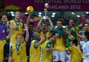 Пентакампеоны. Бразилия выиграла ЧМ-2012 по футзалу