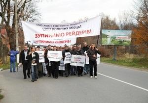Собственники крупнейших в Украине заводов минеральных вод заявили о рейдерской атаке