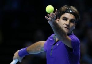 Федерер досрочно пробился в полуфинал Итогового турнира в Лондоне