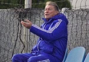 Блохин не сможет руководить Динамо на матче с Порту