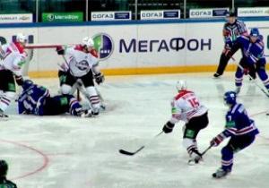 КХЛ: Полуфиналист Кубка Гагарина разгромил Донбасс