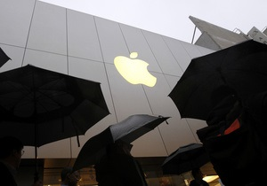 Apple открывает новый магазин в Китае