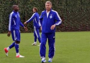 Врачи разрешили Блохину приехать на тренировку Динамо