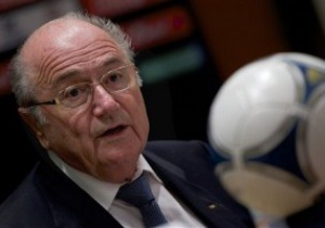 Зепп Блаттер пообещал Испании не принимать Гибралтар в FIFA
