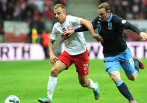 Отбор на ЧМ-2014: Польша и Англия сыграли вничью