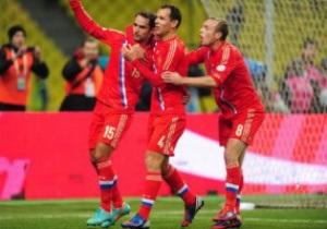 Сборная России - единственная команда, не пропускавшая в отборе к ЧМ