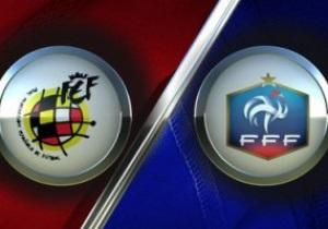 Испания - Франция. Матч отборочного тура на ЧМ-2014