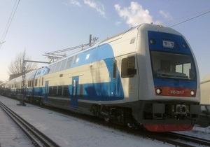 Из-за отсутствия спроса прекращено движение новых двухэтажных поездов Skoda между Донецком и Мариуполем