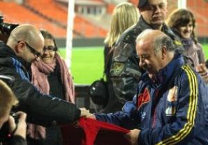 Беларусь - Испания. Матч отборочного тура на ЧМ-2014