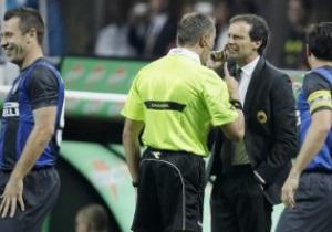 Аллегри: Арбитр повлиял на итог дерби Милан - Интер