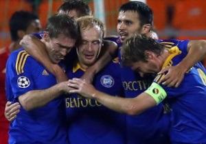 UEFA признал БАТЭ лучшей командой недели
