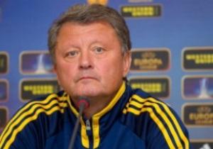 Маркевич поздравил соперника и порадовался удачной замене