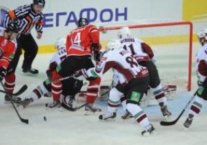 ХК Донбасс одержал первую домашнюю победу в КХЛ