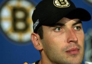 Хоккей: Пражский ХК Лев подпишет контракт с капитаном Boston Bruins