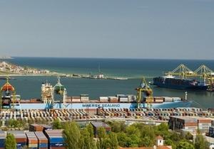 Ильичевский порт обработал рекордное количество грузов