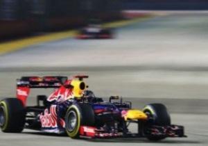 Формула-1. Феттель выигрывает гран-при Сингапура