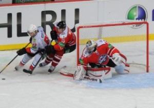 ХК Донбасс проиграл вторую домашнюю встречу в КХЛ